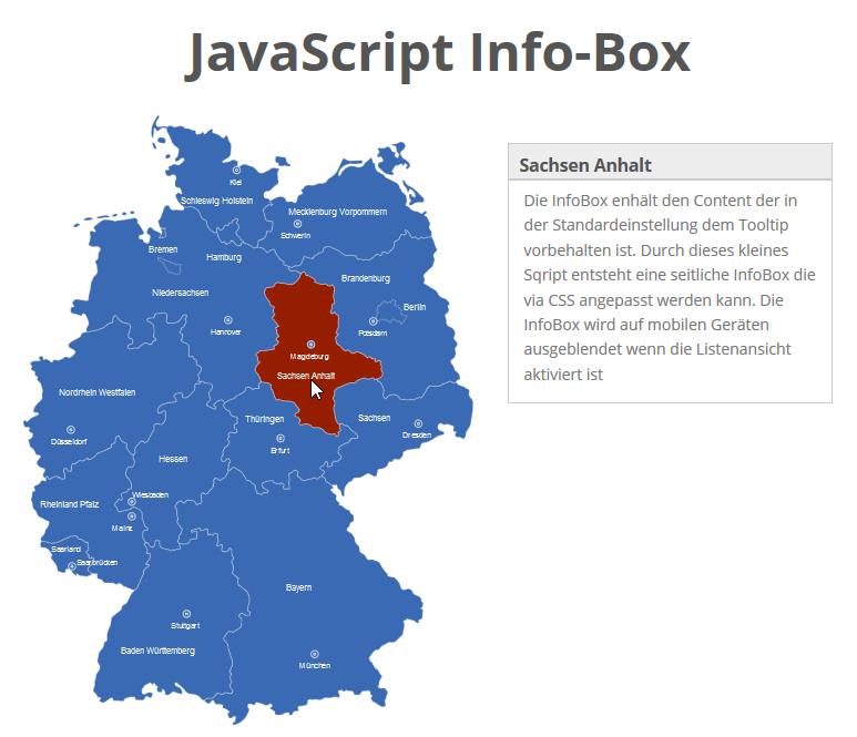 JavaScript Info-Box
