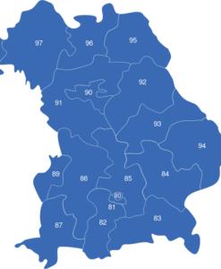 Karte Nrw Plz.Nordrhein Westfalen Nrw Plz Interaktive Landkarte