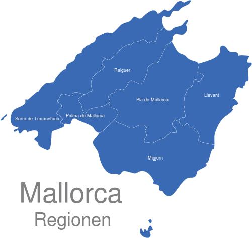 Mallorca Karte Regionen Interaktive Landkarte Image Maps De